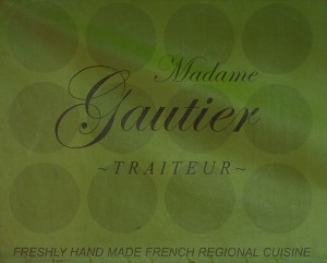 Madame Gauthier banner