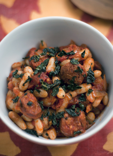 Gluten-free Chorizo and beans