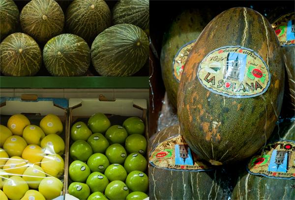 Santa Claus Melons_Seville Market
