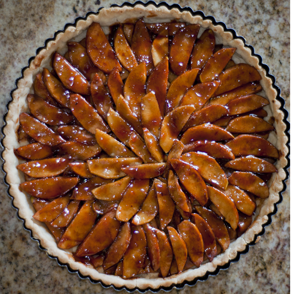 Gluten, egg, dairy, soy and yeast-free Apple Tart