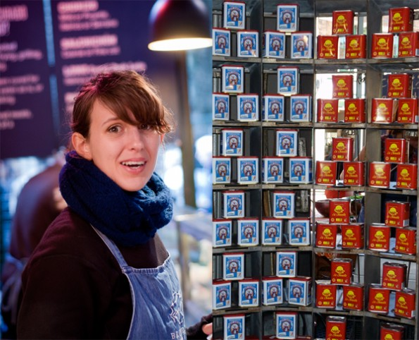 Brindisa STore at Borough Market with Spanish Paprika