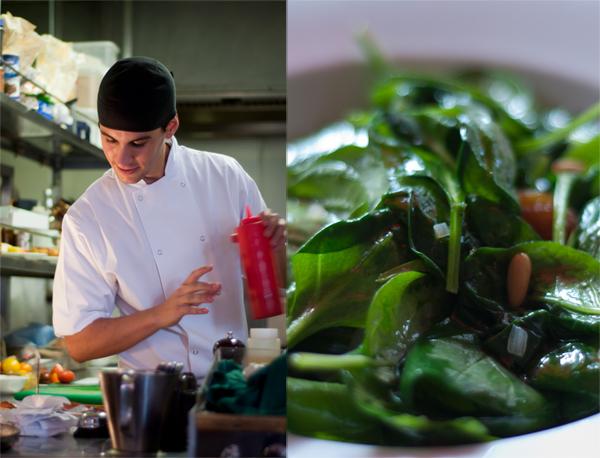 Catalan Spinach Salad Tapas Brindisa