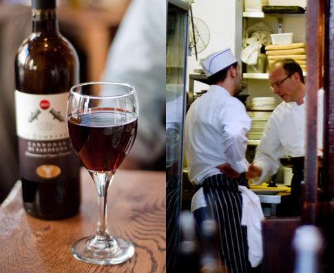 Osteria Basilico_Chefs and wine