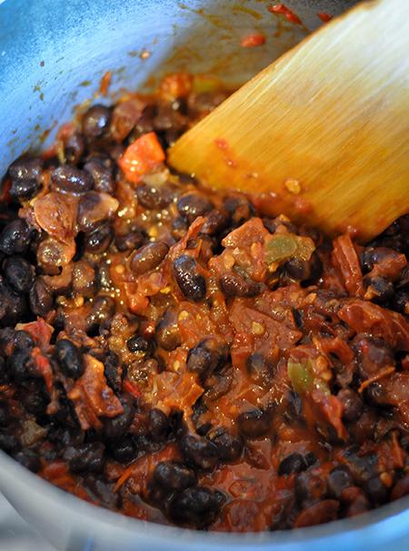 Saucy Salsa Beans