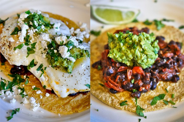 Huevos Rancheros Two Ways