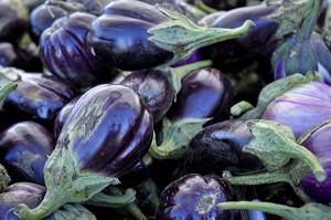 Eggplant at Farmer's market
