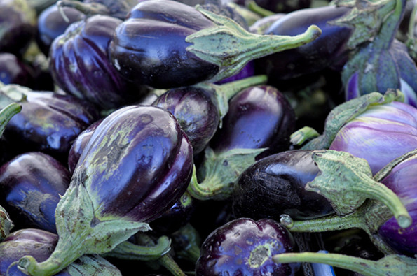 Eggplant at Farmer's market